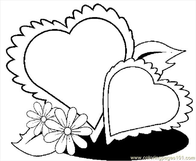 Free Printable Coloring Sheets Of Hearts Printable Coloring Pages