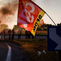 Se endurecen las protestas en Francia con huelgas, bloqueos y movilizaciones