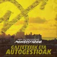 Gaztetxe eta gune autogestionatuen larunbateko Iruñeko manifestazioari babesa