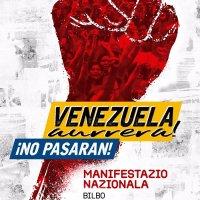 Solidaridad con Venezuela ante el asedio fascista