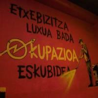Hego Haizea etxearen okupazioa