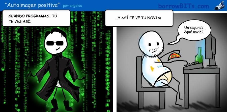 Asi se ve un programador desde fuera