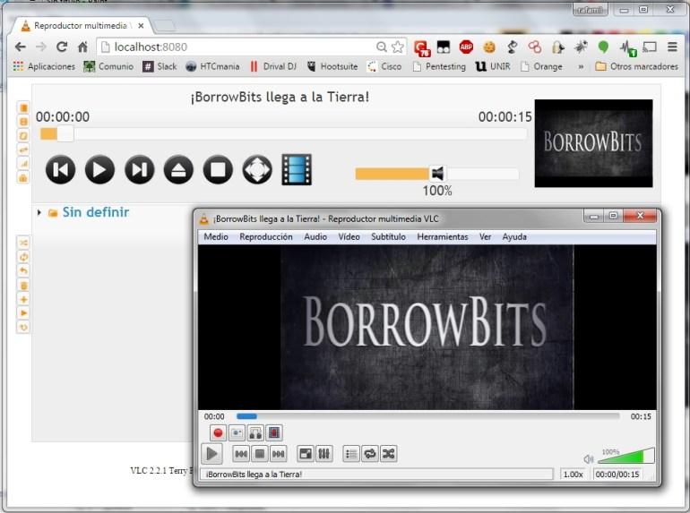 VLC remoto