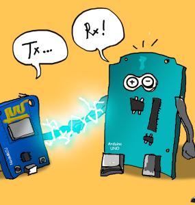 connection serial spi i2c arduino uno nodemcu esp8266