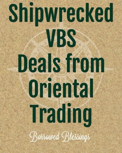 Shipwrecked VBS Deals from Oriental Trading - Borrowed ...