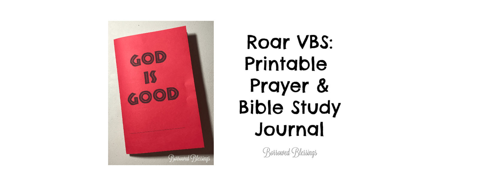 picture about Bible Study Journal Printable called Roar VBS: Printable Prayer Bible Analysis Magazine Â« Borrowed