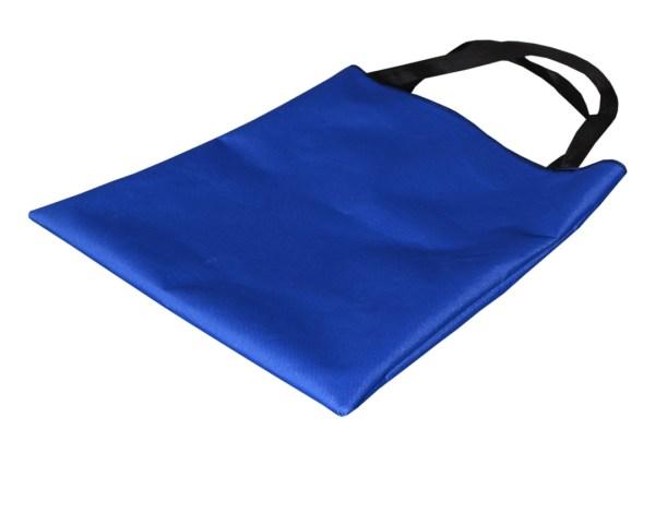 Składana torba wodoodporna na zakupy niebieska