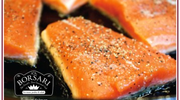 Simple & Tasty Borsari Salmon Recipe