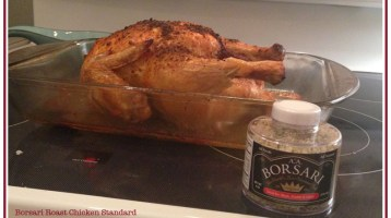 Borsari Roast Chicken Standard Recipe