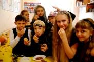 english club halloween party