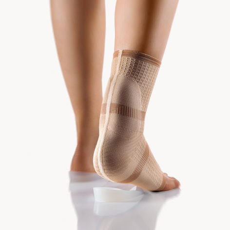 BORT AchilloStabil® Achilles Tendon Ankle Support Brace with 2 Silicone Heel Cups-10