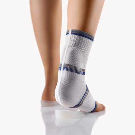 BORT AchilloStabil® Achilles Tendon Ankle Support Brace with 2 Silicone Heel Cups-8
