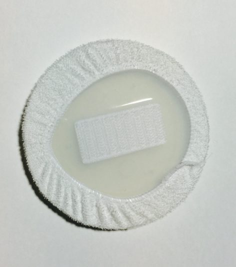 Pad with Cover Included, Back