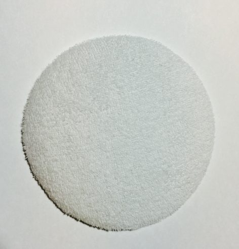 Silicone Pad with Cotton Cover, included- Front