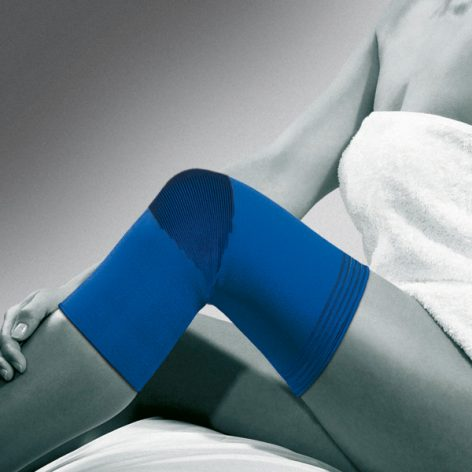 ActiveColor® Knee support, Under Sleeve with pouch -0