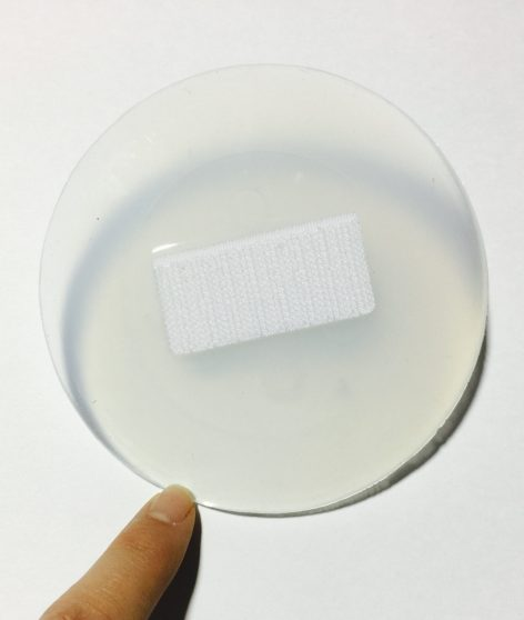 SIlicone Pad, included- Back