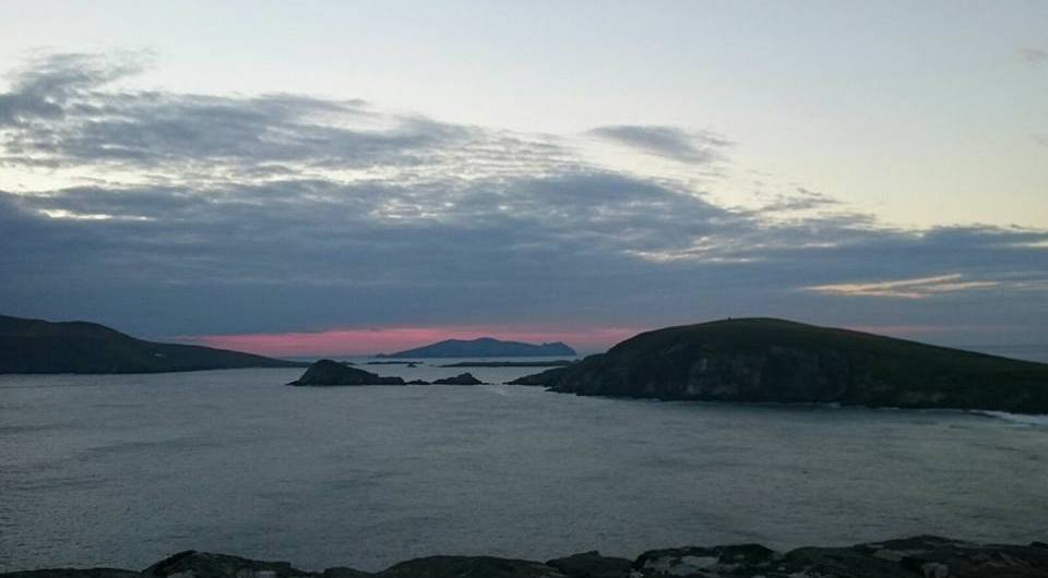 Sunset Slea head Kerry