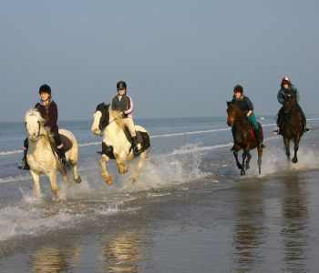 horseriding on Rossbeigh beach