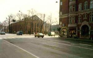 Landsarkivet overfor lægehuset Borups Allé 1, Nørrebro
