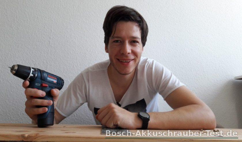 bosch gsr 12v test akkubohrer