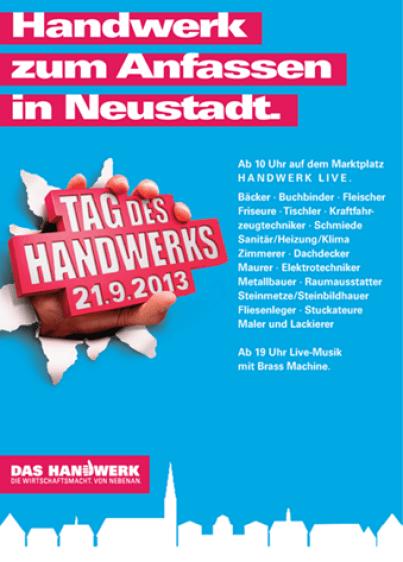 Tag des Hnadwerks 2013 in Neustadt an der Weinstraße