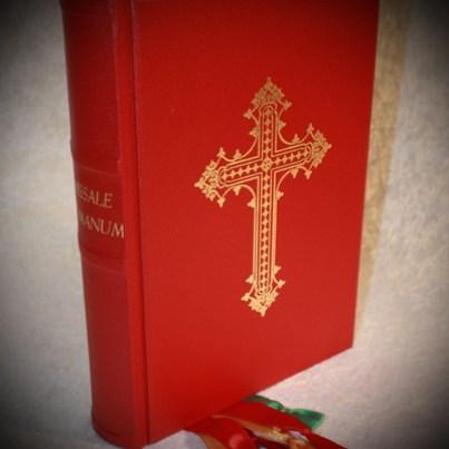 Missale Romanum mit neuem Einband