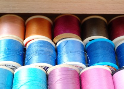 Cotton threads from VintageMaid.