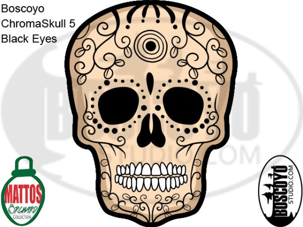 DayCor™ HiRes ChromaSkull 5 Black Eyes