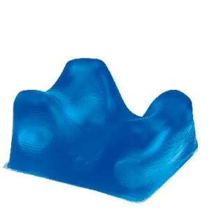 Anti decubitus prone headrest gel