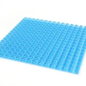 Anti decubitus air mattress embossed gel cushion