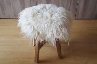 gevilte schapenvacht klein kleedje e