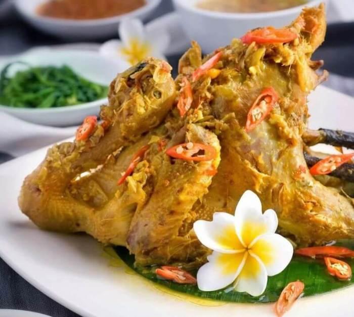 Oleh oleh Makanan Khas Bali Ayam Betutu Halal yang Mendunia