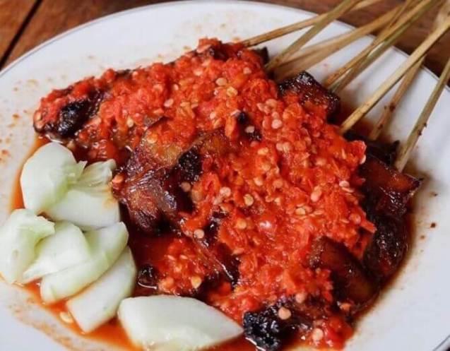 Nama Makanan Khas Bali yeng Mendunia Sate Plecing