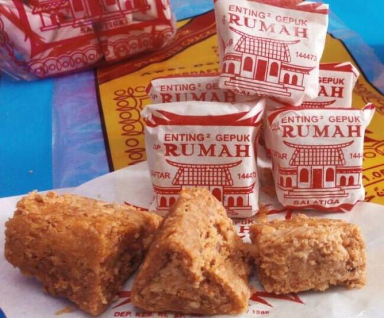 Oleh oleh Makanan Khas Jawa Tengah Enting-Enting Gepuk