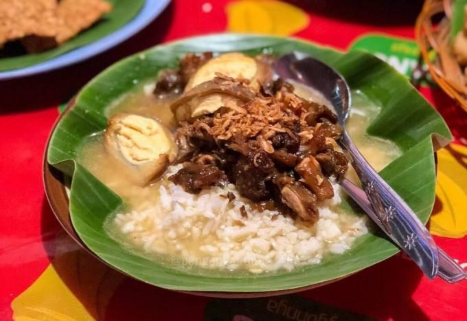 Makanan Khas Semarang Nasi Gandul