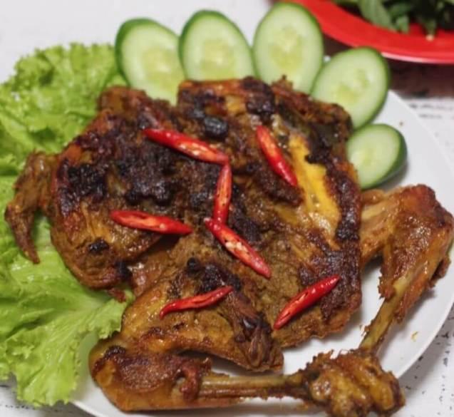 Nama Makanan Khas Sunda di Bandung Bakakak Hayam