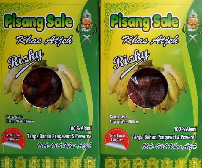 Oleh oleh Makanan Khas Aceh Pisang Sale