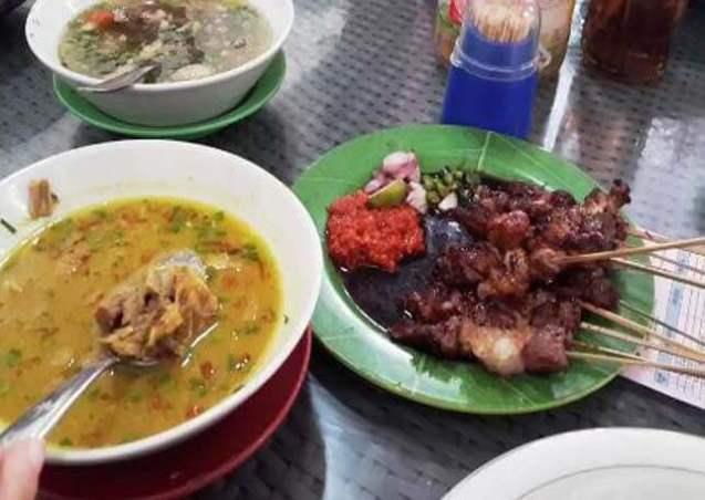 Makanan Khas Cirebon Sate Kalong