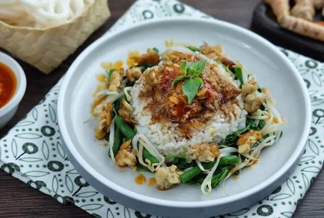 Makanan Khas Jawa Timur dan cara membuatnya Nasi Tumpang
