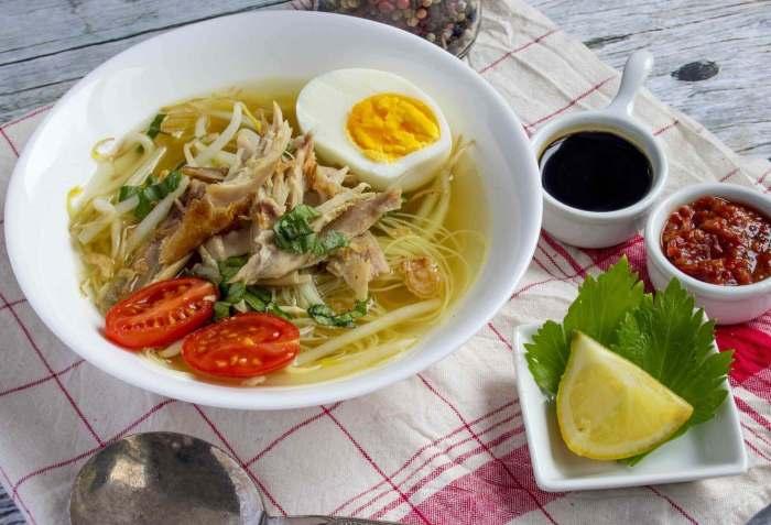 Makanan Khas Jawa Timur Soto Lamongan