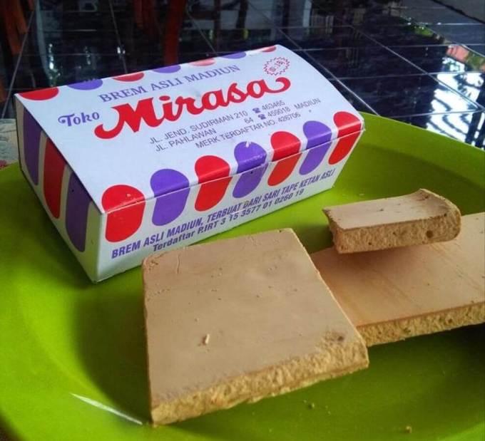 Makanan Khas Madiun Brem Mirasa