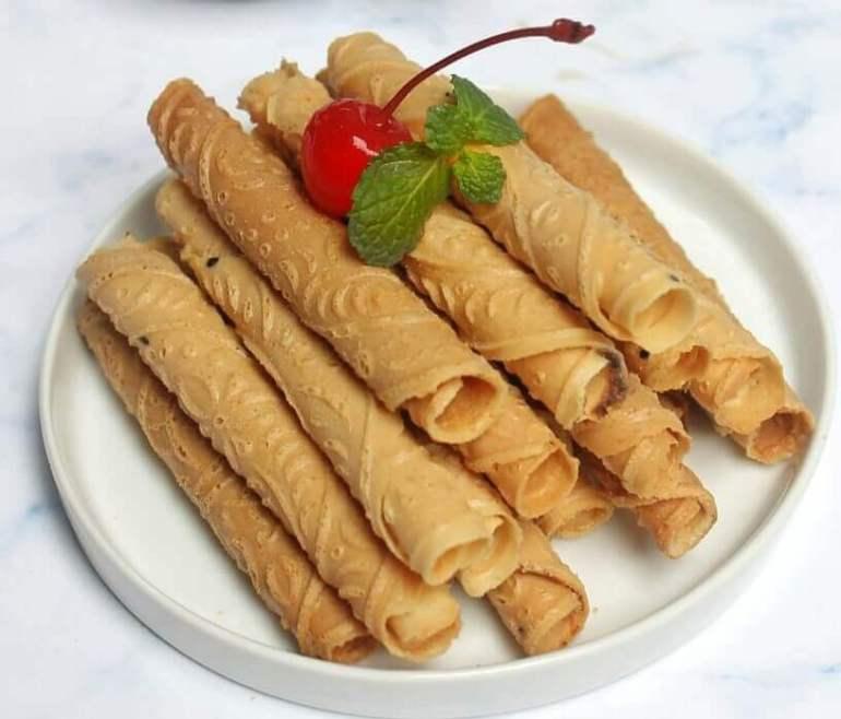 Makanan Khas Madiun Kue Semprong