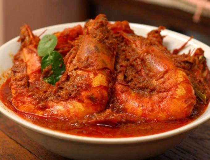 Makanan Khas Riau Gulai Belacan