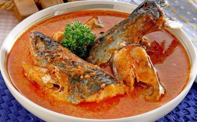 Makanan Khas Pekanbaru Gulai Ikan Patin