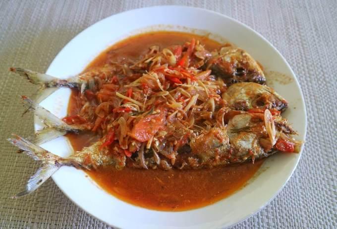 Makanan Khas Riau Ikan Cuka