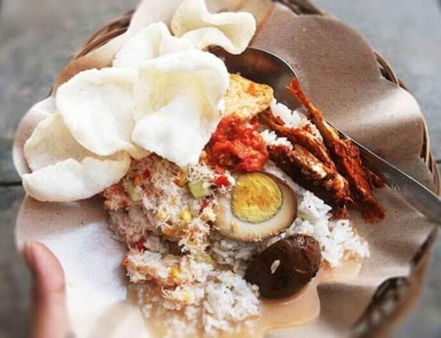 Makanan Khas Banyuwangi Sego Cawuk