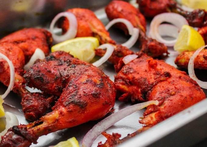 Makanan Khas India Ayam Tandoori