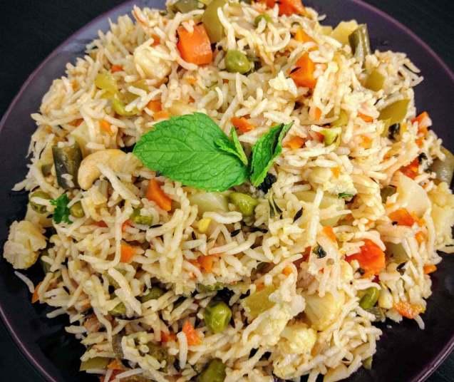 Makanan Khas India Pulao