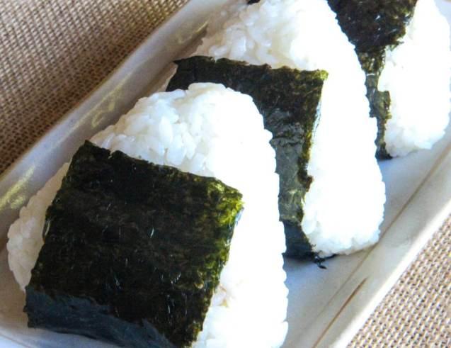 Nama Makanan Khas Jepang Onigiri