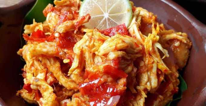 Makanan Khas Lombok Ayam Pelalah